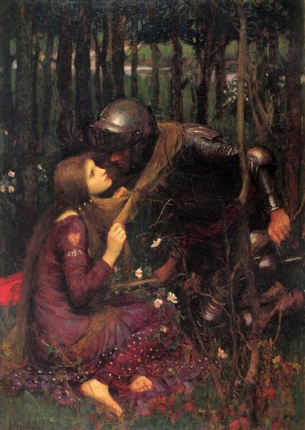 Waterhouse, John William: Beautiful Woman Without Mercy/Pity. Romanticism Fine Art Print/Poster. Sizes: A4/A3/A2/A1 (00832)